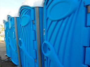 Туалеты для строителей на стройплощадках