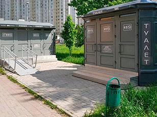 Туалетные модули на заказ