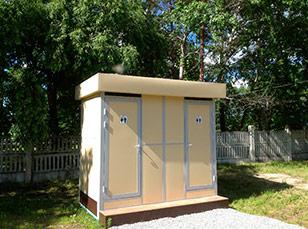 Туалетные модули для рынка