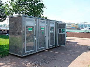 Мобильные туалетные модули недорого