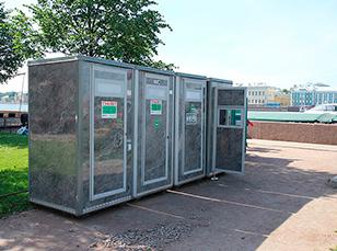 Туалетные кабинки заказать