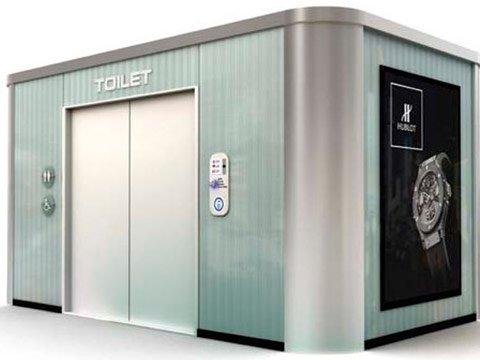 Модули туалет душ