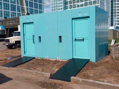 Производитель модульных туалетов в Краснодарском крае