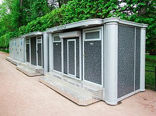 Туалетные модули недорогие