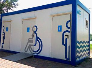 Модульные туалеты Москва